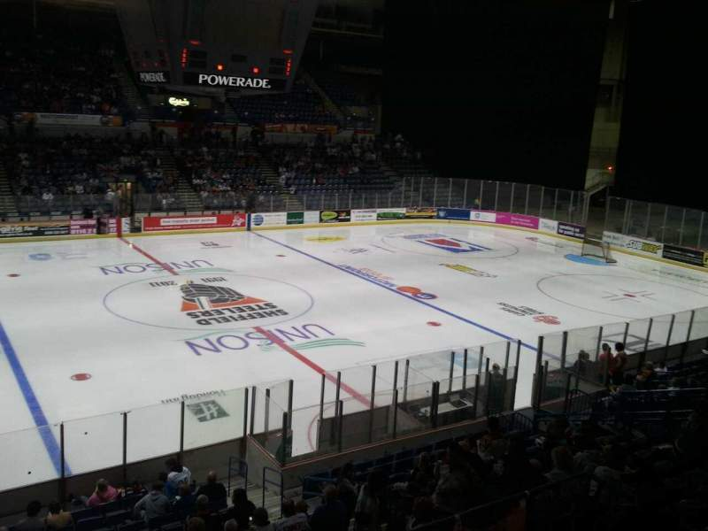 Seating view for Sheffield Arena Section 217 Row f Seat 12