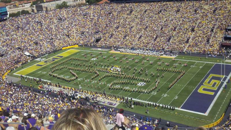 Seating view for Tiger Stadium Section 611 Row 14 Seat 21