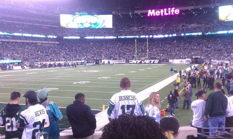 Seating view for MetLife Stadium Section 146 Row 9 Seat 11