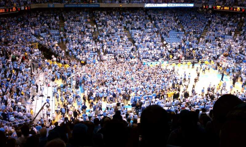Seating view for Dean Dome Section 223 Row O Seat 1