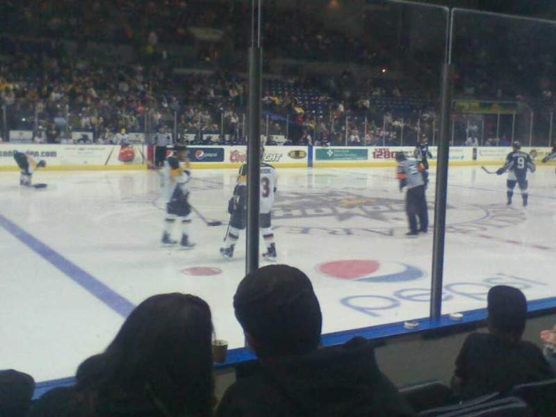 Seating view for Stockton Arena Section 116 Row 4 Seat 10