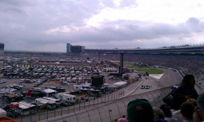 Seating view for Texas Motor Speedway Section 447 Row 50 Seat 12