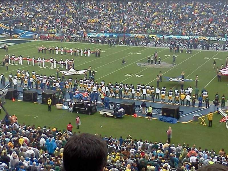 Seating view for Qualcomm Stadium Section c