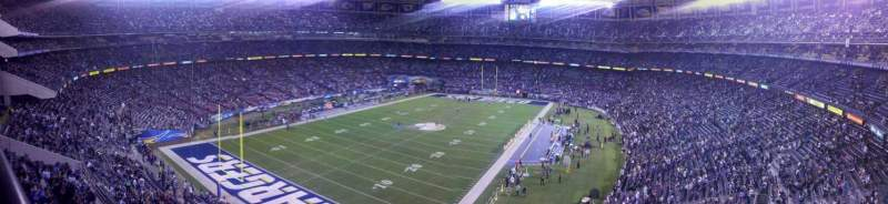 Seating view for Qualcomm Stadium Section LV56 Row 1 Seat 10