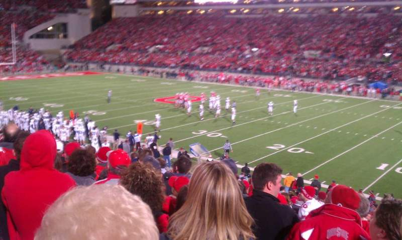 Seating view for Ohio Stadium Section 16a Row 16 Seat 2