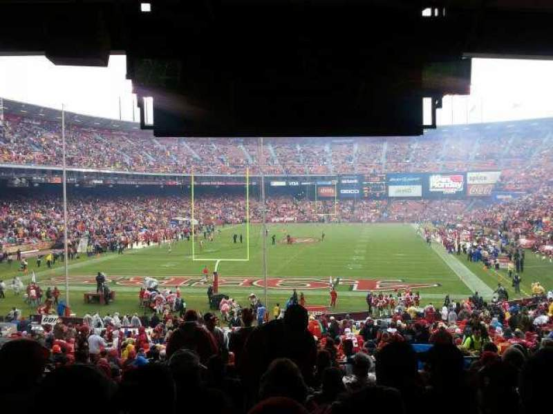 Seating view for Candlestick Park Section 9 Row 11 Seat 11