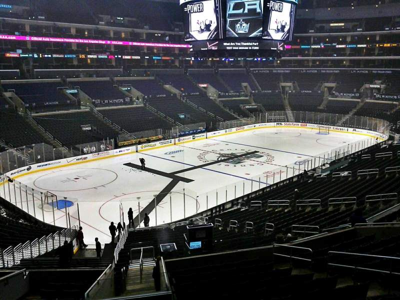 Seating view for Staples Center Section Suite A55