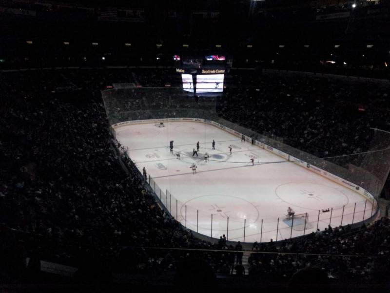 Seating view for Scottrade Center Section 331 Row C Seat 15
