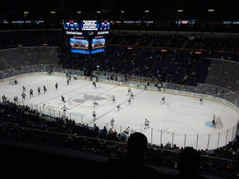 Seating view for Scottrade Center Section 318 Row C Seat 4