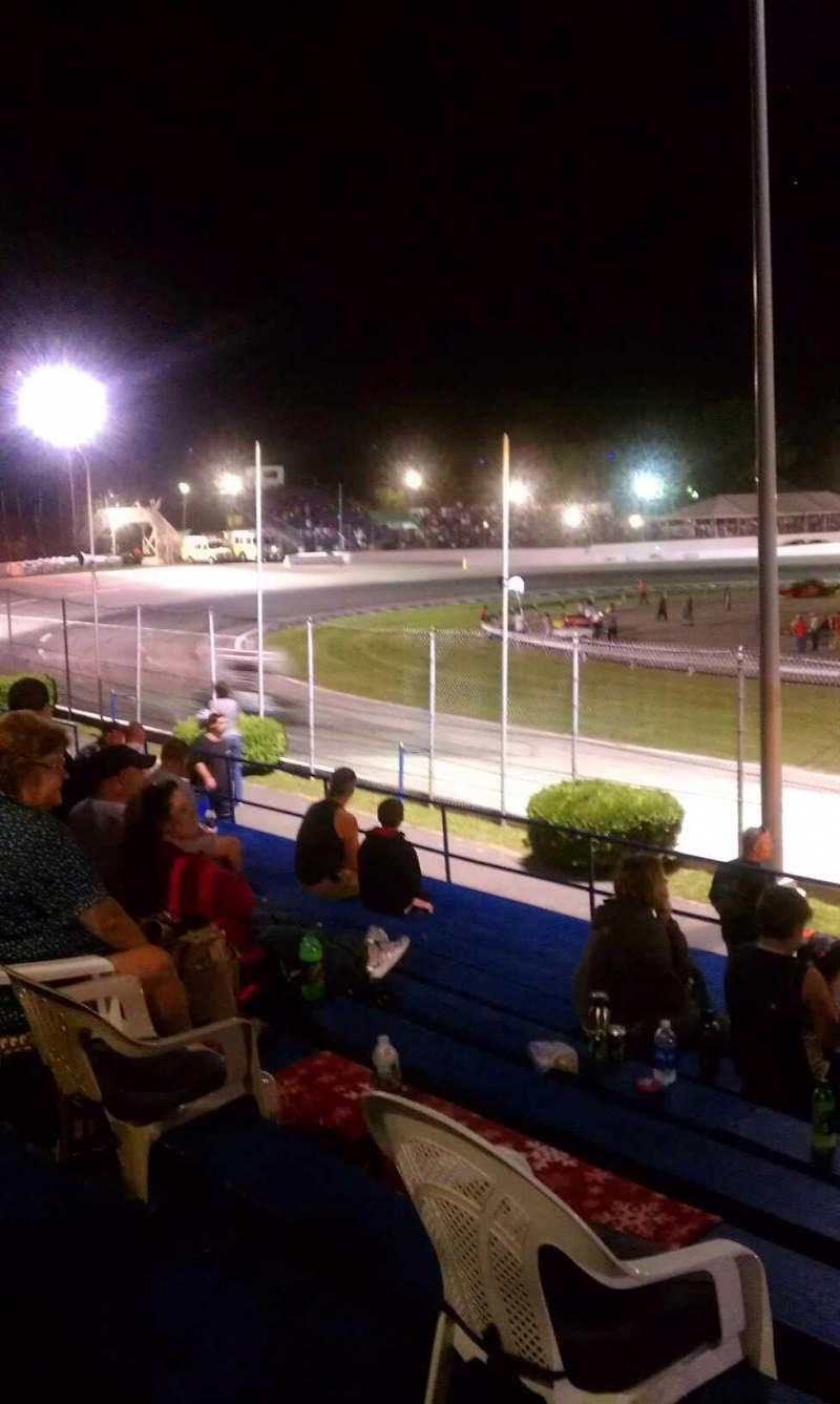 Seating view for Lee Usa Speedway