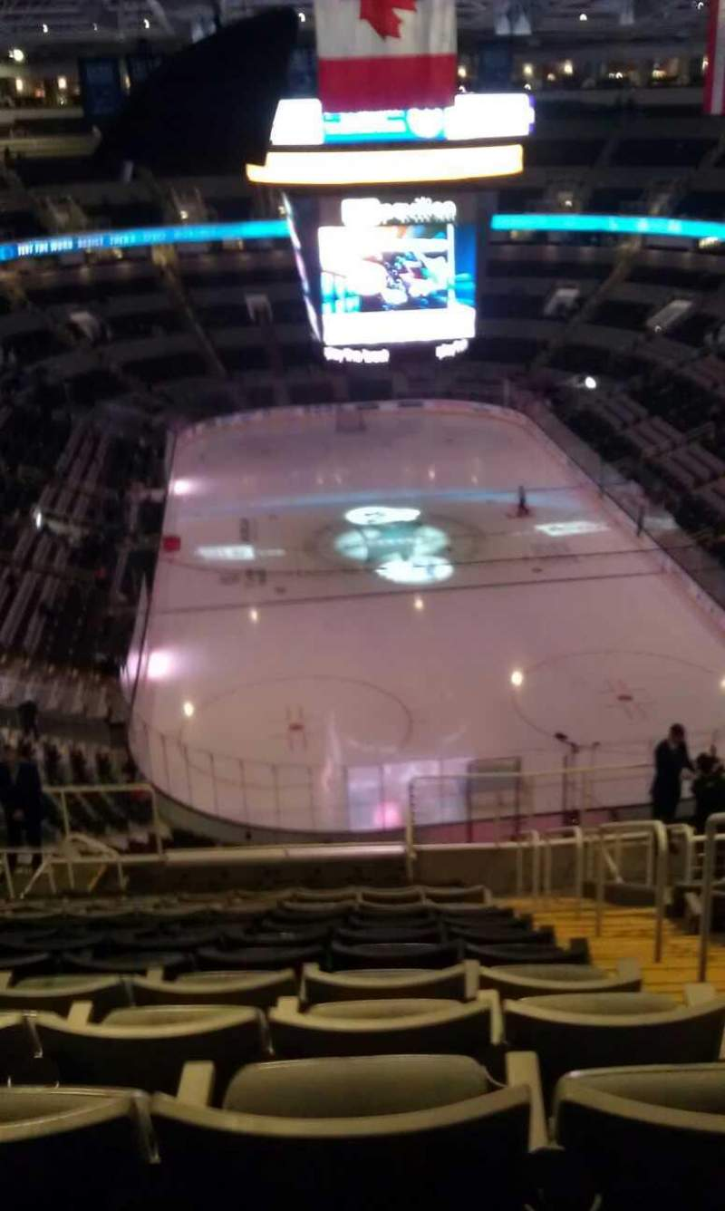 Seating view for SAP Center at San Jose Section 223 Row 16 Seat 2