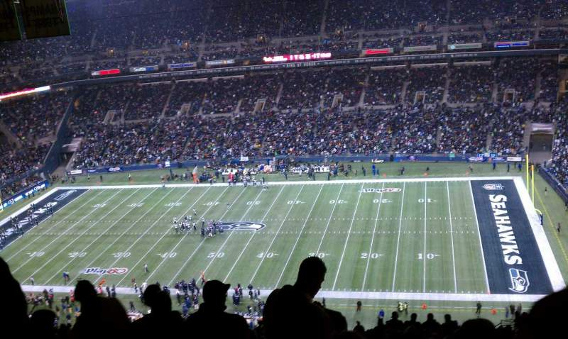 centurylink field, section: 332, row: pp, seat: 13