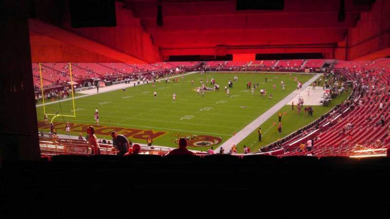 Seating view for FedEx Field Section 229 Row 20 Seat 20