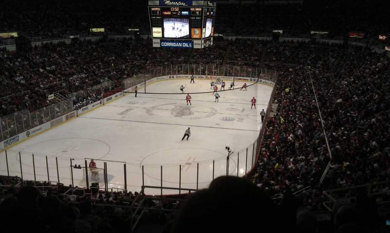 Seating view for Joe Louis Arena Section 213a Row 11 Seat 13