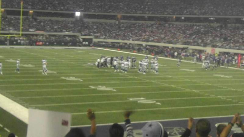 Seating view for AT&T Stadium Section 101 Row 20 Seat 13