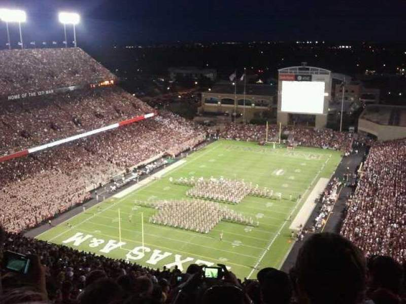 Seating view for Kyle Field Section 150