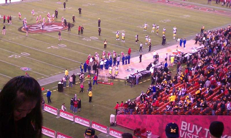 Seating view for Candlestick Park Section Ur25 Row 9 Seat 11