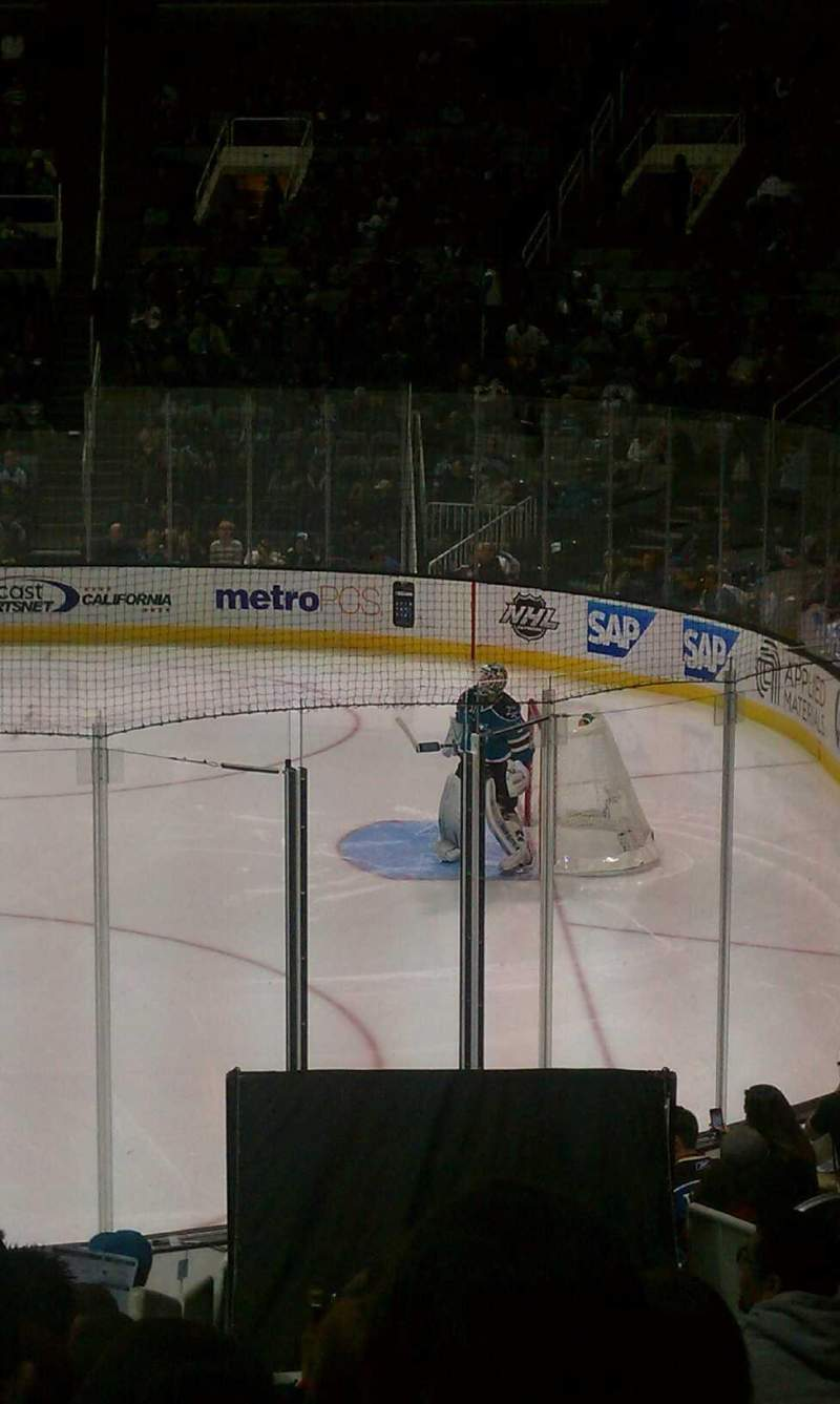 Seating view for SAP Center at San Jose Section 113 Row 14 Seat 6