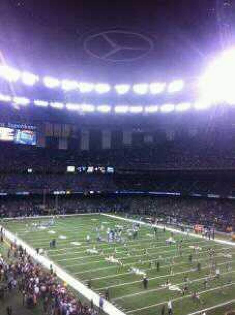 Mercedes benz superdome new orleans saints shared for Mercedes benz superdome suites