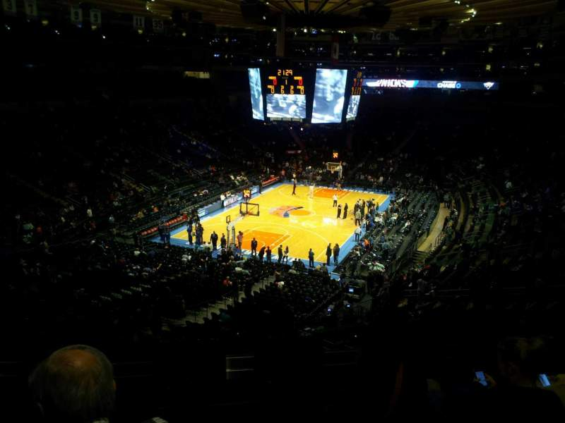 Seating view for Madison Square Garden Section 318 Row 5 Seat 11