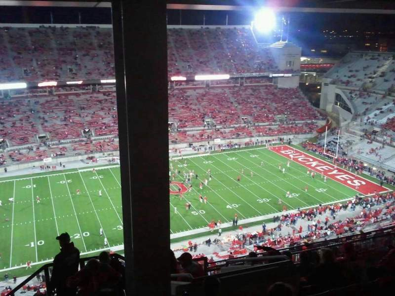 Seating view for Ohio Stadium Section 17d Row 11 Seat 23