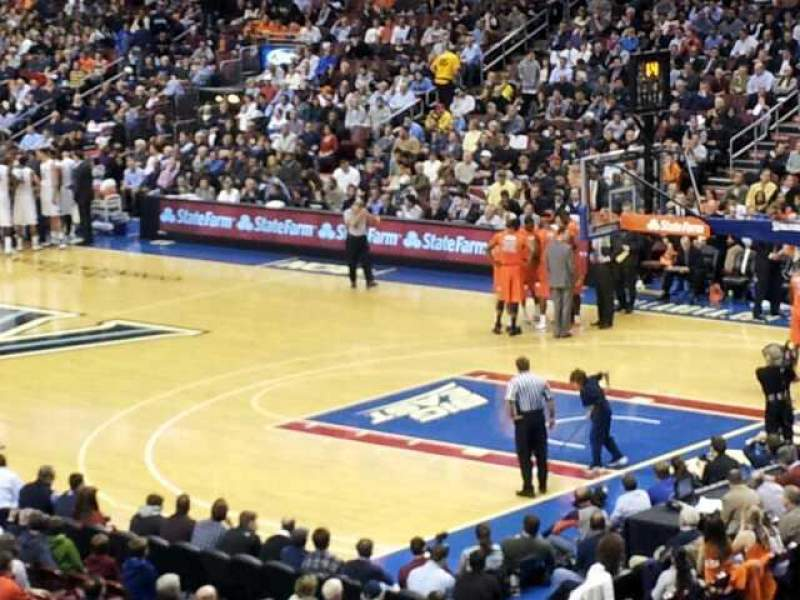 Seating view for Wells Fargo Center Section Club Box 16 Row 1 Seat 11