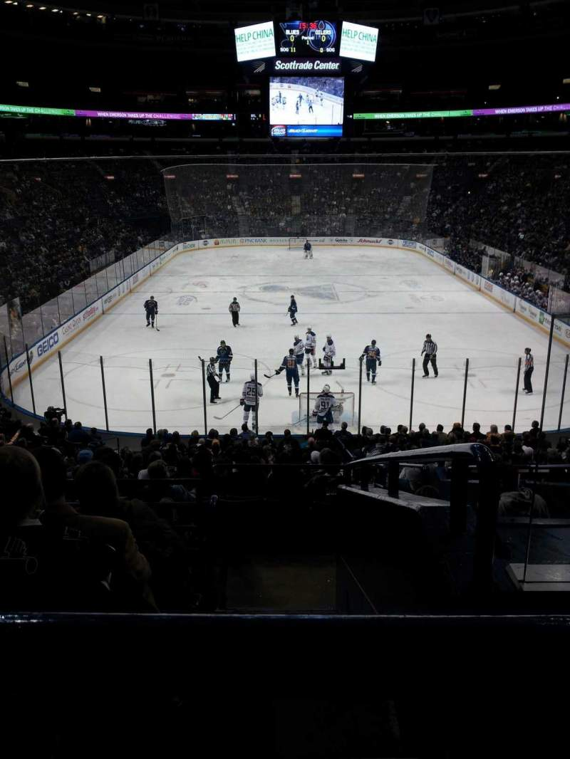 Seating view for Scottrade Center Section 110 Row BB Seat 2