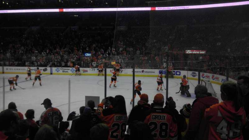 Seating view for Wells Fargo Center Section 115 Row 10 Seat 15