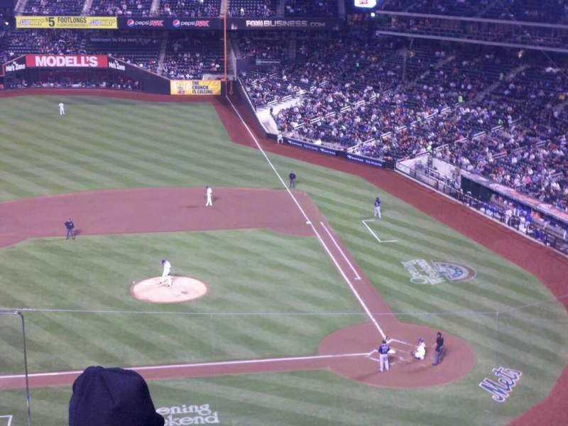 Seating view for Citi Field Section 420 Row 3 Seat 13