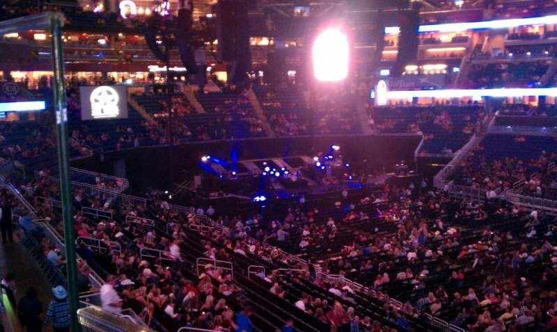 Seating view for Amway Center Section Loge Box A Row 1 Seat 1