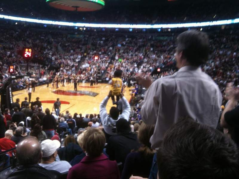 Seating view for Moda Center Section 105