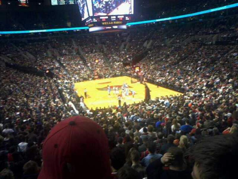 Seating view for Moda Center Section 225