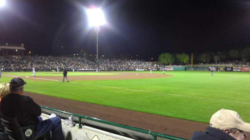 Seating view for Scottsdale Stadium Section 126 Row c Seat 3