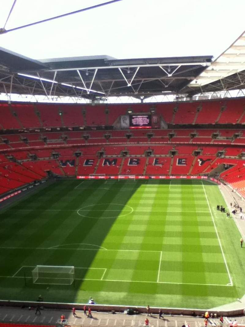 Seating view for Wembley Stadium Section 512 Row 18 Seat 342