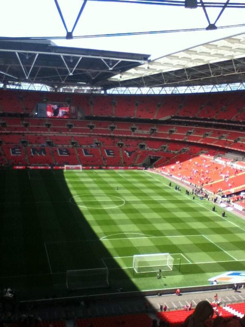 Seating view for Wembley Stadium Section 515 Row 18 Seat 58