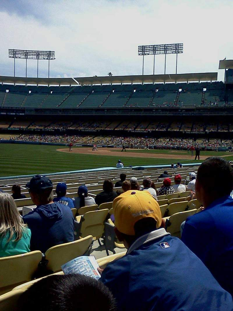 Seating view for Dodger Stadium Section 45fd Row g Seat 2