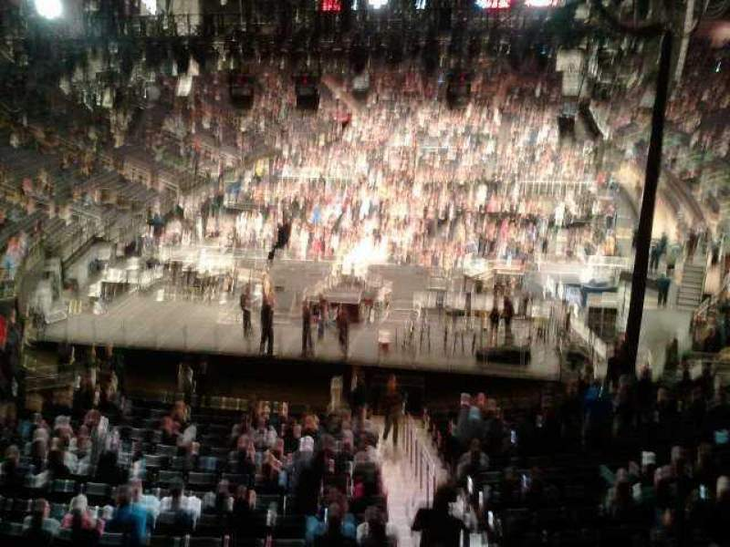 Madison Square Garden, section: 319, row: 1, seat:  12