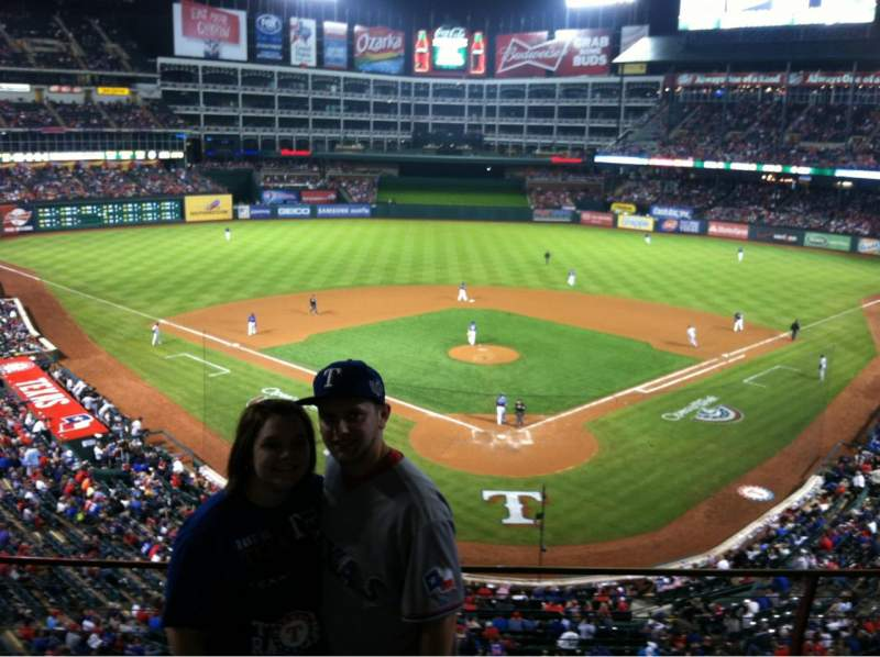 Seating view for Globe Life Park in Arlington Section 225 Row 4
