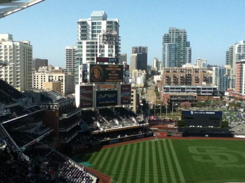 Seating view for Petco Park Section 306 Row 18 Seat 1