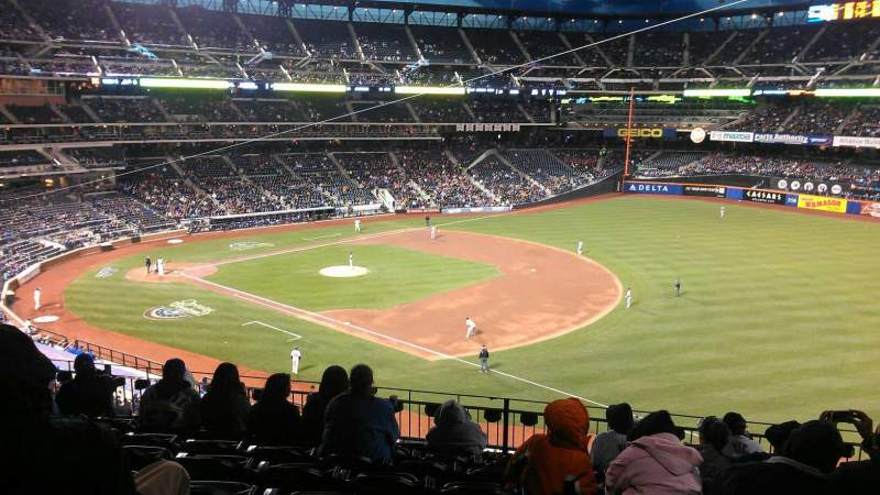Seating view for Citi Field Section 308 Row 8 Seat 17
