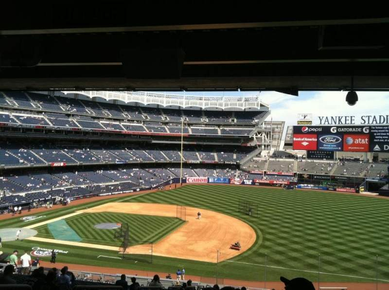 Seating view for Yankee Stadium Section 214a Row 23 Seat 15