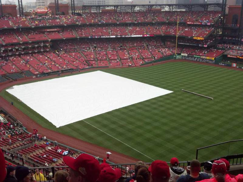 Seating view for Busch Stadium Section 433 Row 7 Seat 11