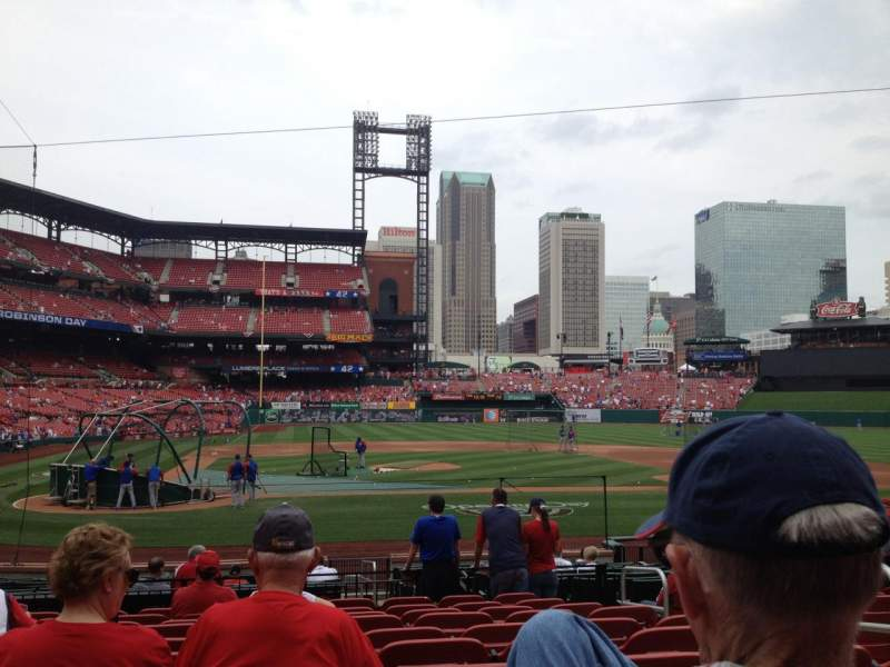 Seating view for Busch Stadium Section 146 Row 10 Seat 9