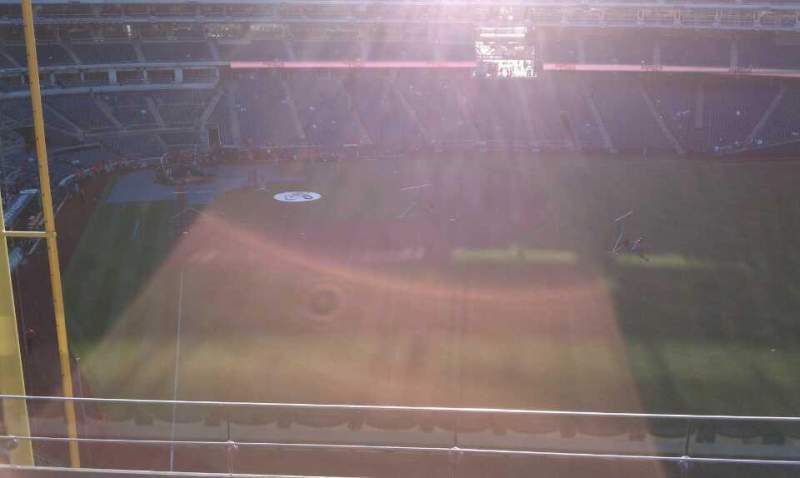 Seating view for Nationals Park Section 234 Row F Seat 4