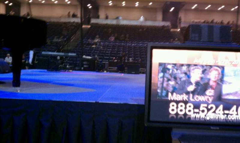 Seating view for Allen Arena Section 3 Row A Seat 11