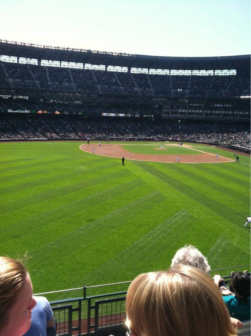 Seating view for Safeco Field Section 185 Row 4 Seat 19