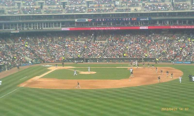 Seating view for Comerica Park Section 218 Row 5 Seat 19