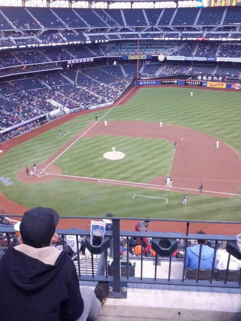 Seating view for Citi Field Section 507 Row 3 Seat 15