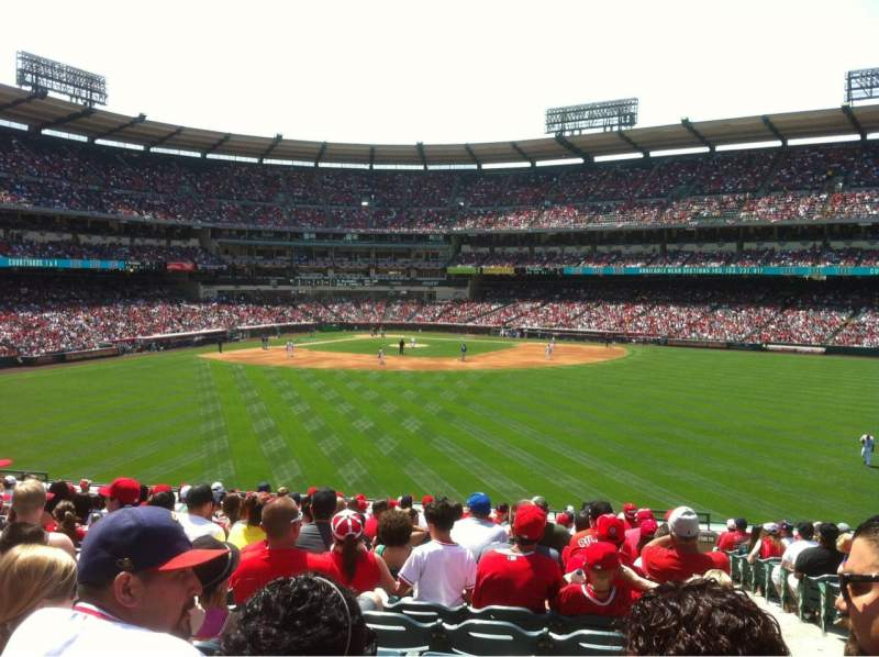 Seating view for Angel Stadium Section P239 Row R Seat 24