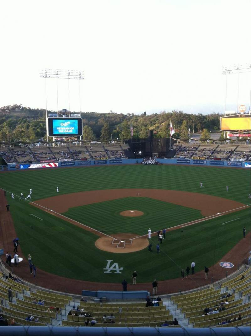 Seating view for Dodger Stadium Section 2RS Row B Seat 2